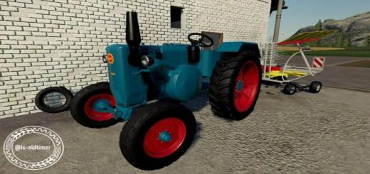 Photo of FS19 – Lanz D3606 Tractor V1.0.1.1