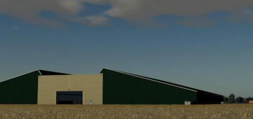 Photo of FS19 – Large Machinery Shed V1.0.0.1