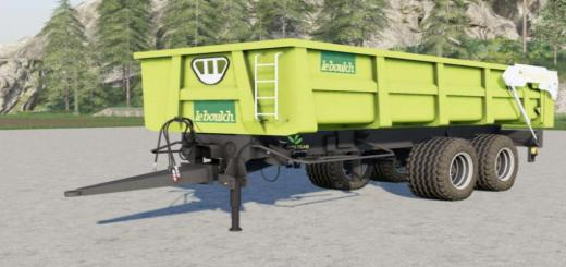 Photo of FS19 – Leboulch Gold K160 Xl Trailer V2