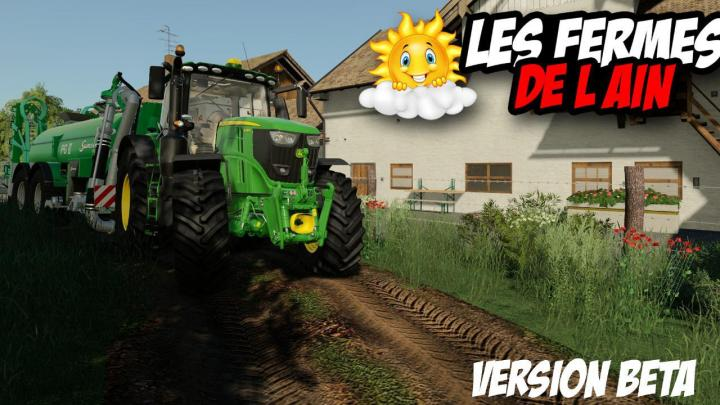 FS19 - Les Fermes De Lain Map Beta