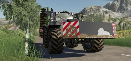 Photo of FS19 – Lizard Weight 2100Kg V1