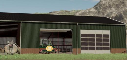 Photo of FS19 – Machineshed With Workshop V1.1