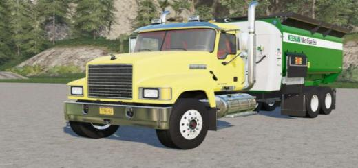Photo of FS19 – Mack Pinnacle Feed Truck