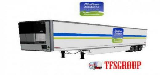 Photo of FS19 – Maitres Laitiers Refrigerated Trailer V2