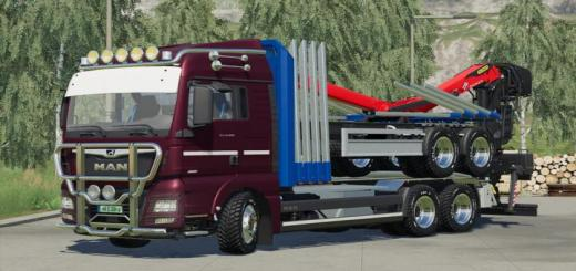 Photo of FS19 – Man Tgx Forest Special V1