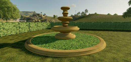 Photo of FS19 – Marble Fountain V1