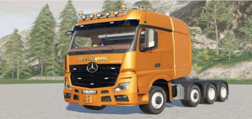 Photo of FS19 – Mercedes-Benz Actros Slt (Mp4) 2013