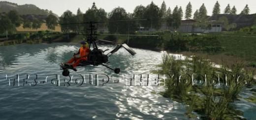 Photo of FS19 – Micron Ultralight Helicopter V2