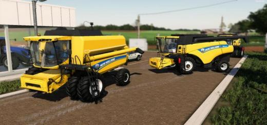 Photo of FS19 – New Holland Cr5080 And Tx 5.90 V2