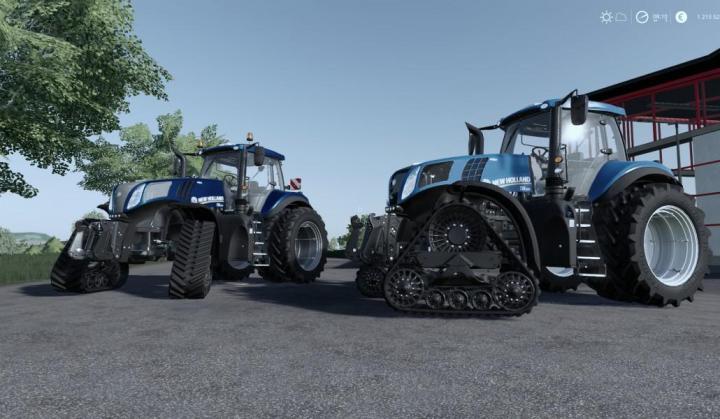 FS19 - New Holland T8 V1
