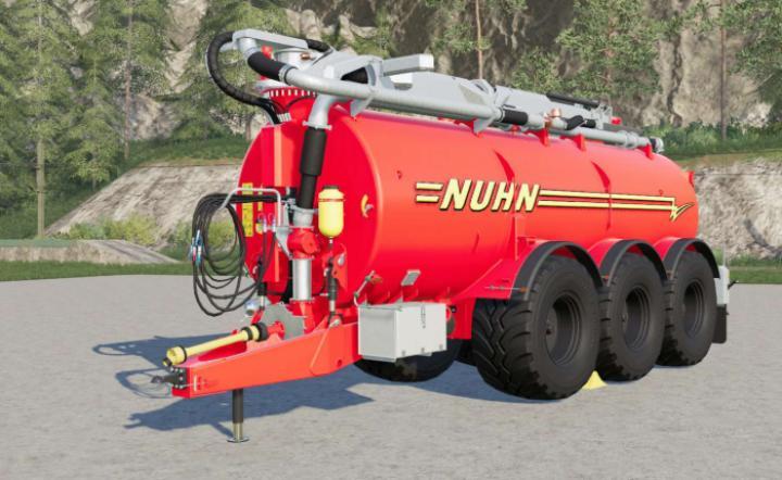 FS19 - Nuhn Electra-Steer Vacuum V2