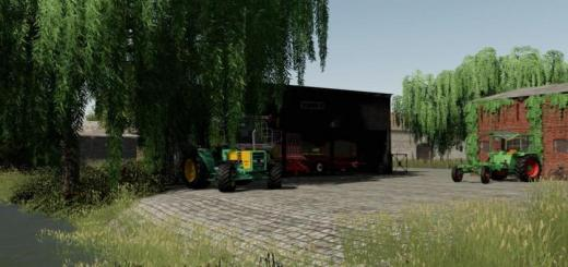 Photo of FS19 – Old Shed Small V1