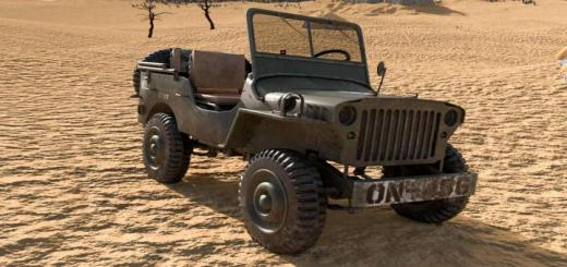 Photo of FS19 – Old Willys Jeep V1