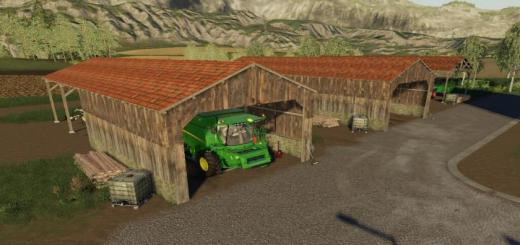 Photo of FS19 – Old Wooden Shed V1