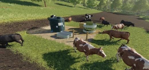 Photo of FS19 – Open Cow Pasture V1.0.1.0