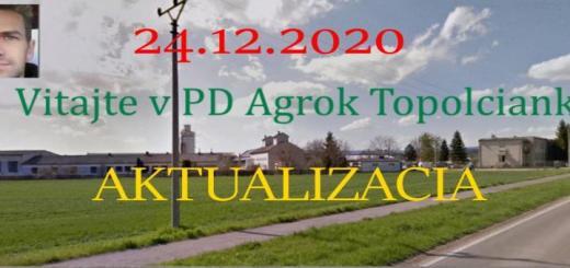 Photo of FS19 – Pd Agrok Topolcianky Map V1