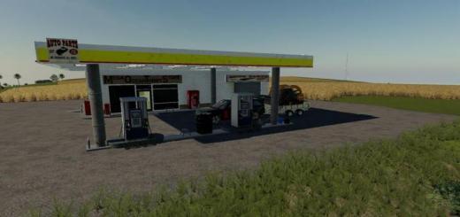 Photo of FS19 – Placeable Fuel Station V1