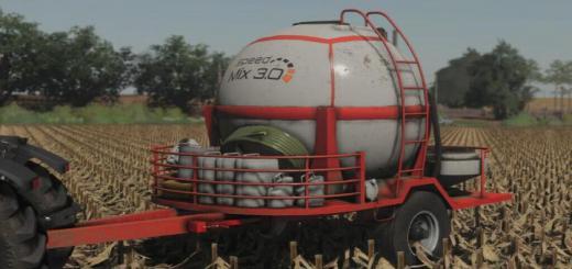 Photo of FS19 – Rotoplastyc Speed Mix 3000 V1.1