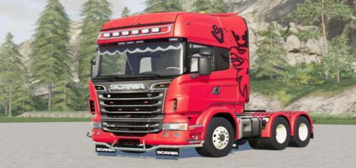 Photo of FS19 – Scania R730 V8 Topline V2