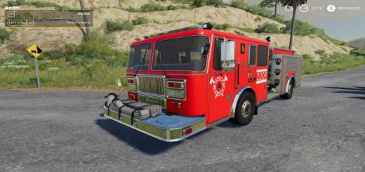 Photo of FS19 – Seagraves Fire Engine V1