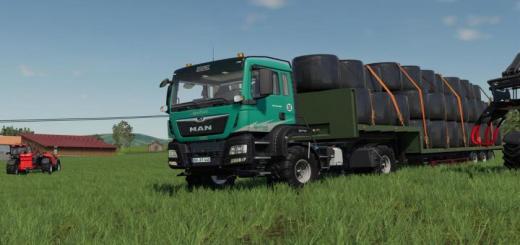 Photo of FS19 – Stapel Agrotruck V1