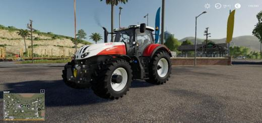 Photo of FS19 – Steyr Terrus Cvt With Adapted Sound V1