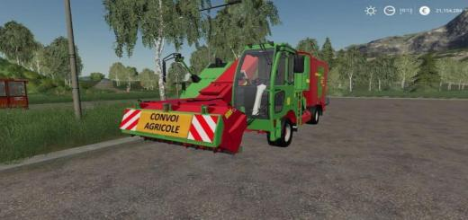 Photo of FS19 – Strautmann Vm 1702 Double Sf Agricultural Convoy V1