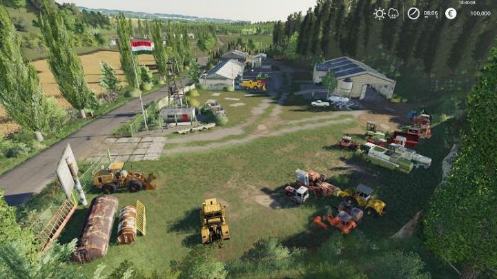 FS19 - Szandavaralja Map Multifruit V2