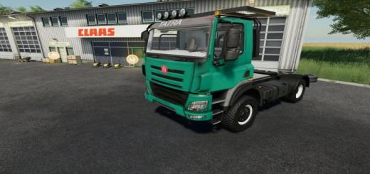 Photo of FS19 – Tatra Phoenix 4X4 V1