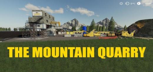 Photo of FS19 – The Mountain Quarry V1