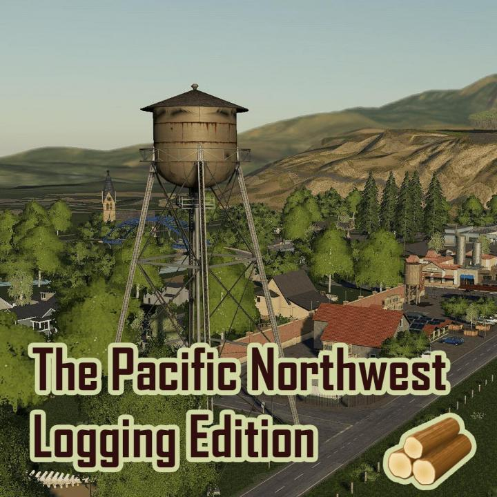 FS19 - The Pacific Northwest Logging Edition V2