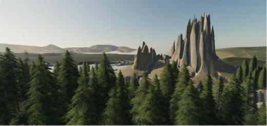Photo of FS19 – Tower Rock Map V1