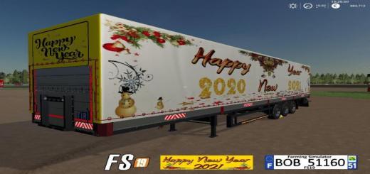Photo of FS19 – Trailer Happy New Year V1