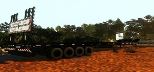 Photo of FS19 – Transport Trailer 25M V1.1