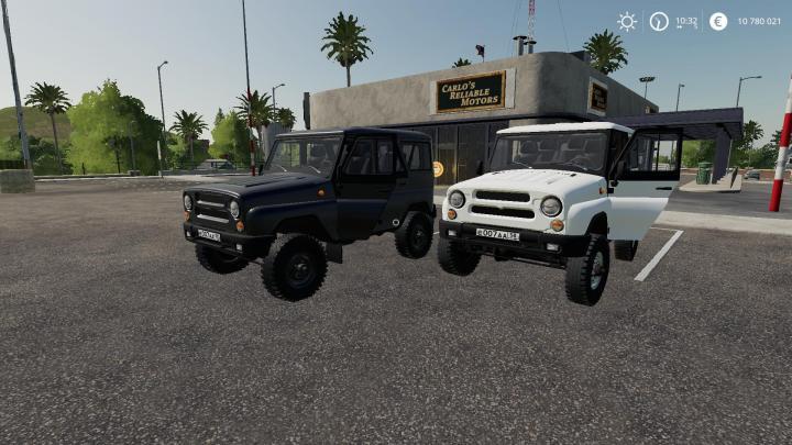 FS19 - Uaz Hunter V4