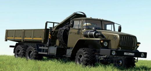 Photo of FS19 – Ural 4320-60 Loader Crane V1.0.1.1