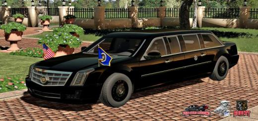 Photo of FS19 – Us Cadillac Presidential 2017 V1