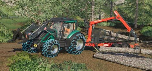 Photo of FS19 – Valtra T Forest Pack V1