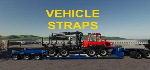 Photo of FS19 – Vehicle Straps V1