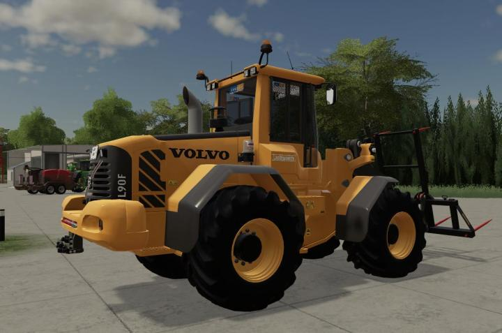 FS19 - Volvo L60-L90 With Tools V5.1