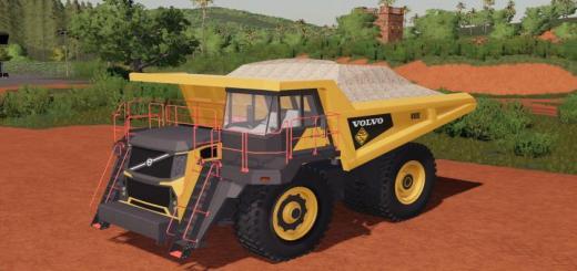 Photo of FS19 – Volvo R-100E Mining Truck V1