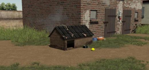 Photo of FS19 – Wooden Dog House V1