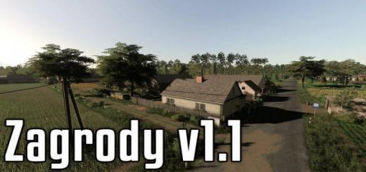 Photo of FS19 – Zagrody Map V1.1