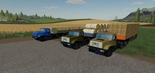 Photo of FS19 – Zil 13305A And Trailer V1