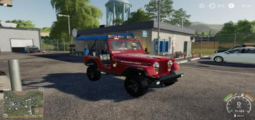 Photo of FS19 – 1976 Jeep Renegade V2