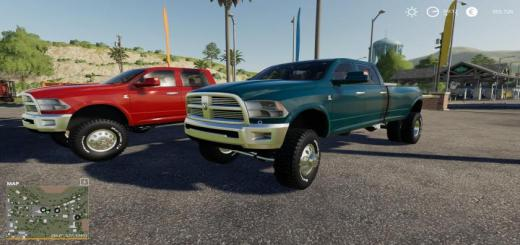 Photo of FS19 – 2013 Ram 3500 V1