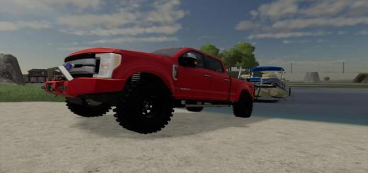 Photo of FS19 – 2017 Ford F250 King Ranch V1