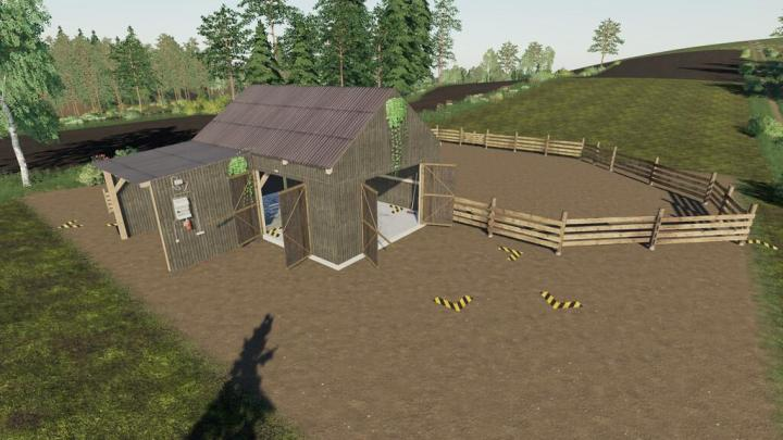 FS19 - A Small Horse Stable V1