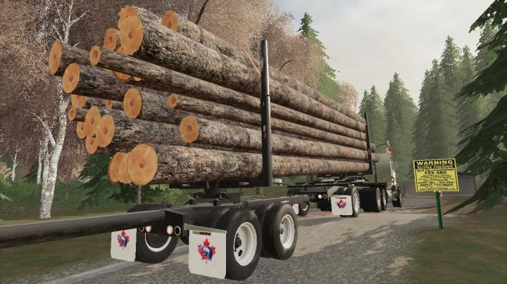 FS19 - Arctic Jeep And Pole Logging Trailers 1.0