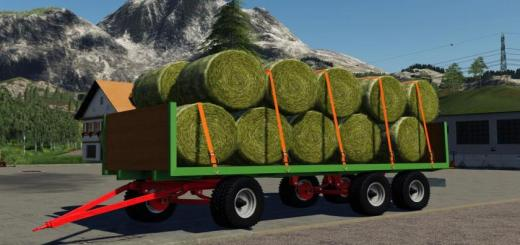 Photo of FS19 – Baletrailer 500 V1